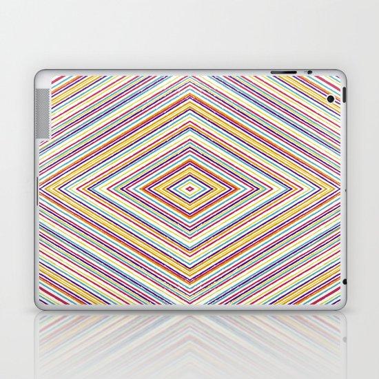 CRAYON STRIPES Laptop & iPad Skin