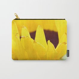 Sunflowers Face the Sun Carry-All Pouch