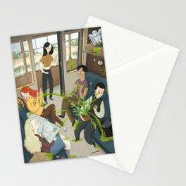 Train Ride Stationery Cards