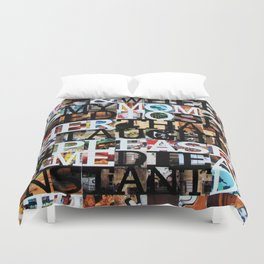 Instant Death Duvet Cover