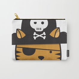 Pirate Cat: Jumpy Icon Carry-All Pouch