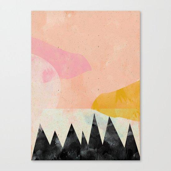 My own sun Canvas Print