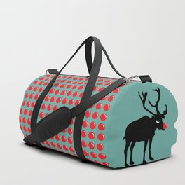Angry Animals: Rudolph the red nosed Reindeer Duffle Bag