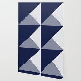 Trinity Color Block Navy Blue 121c44 Wallpaper