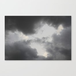 Silver Lining Canvas Print