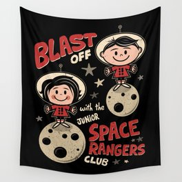 Space Rangers Wall Tapestry