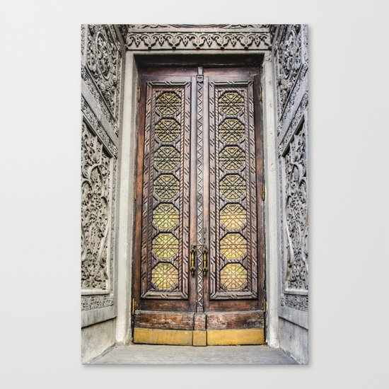 the door to the fairytale Canvas Print