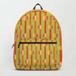 Mod Stripe Green Backpack