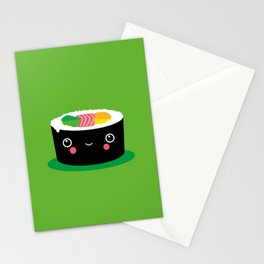 Kids Room Kawaii Maki – Illustration for the sleeping room of girls and boys Stationery Cards