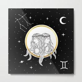 Gemini [Horoscope Collection] Metal Print