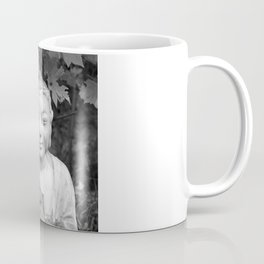 Buddha black and white photo, photographed village in Oberaudorf (Bavaria), 2013 Coffee Mug