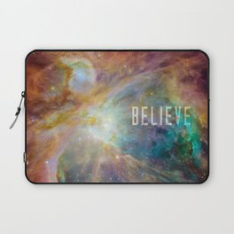 Believe -  Space and Universe Laptop Sleeve