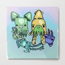 squid fam Metal Print
