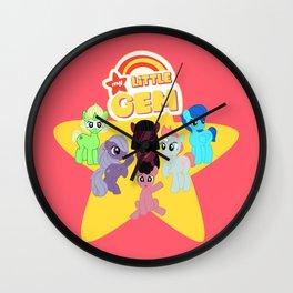 My Little Gem Wall Clock