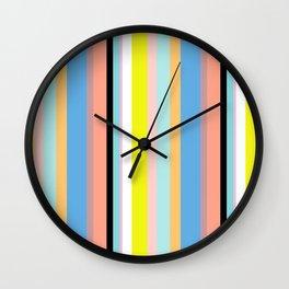 Nile Stripes Wall Clock