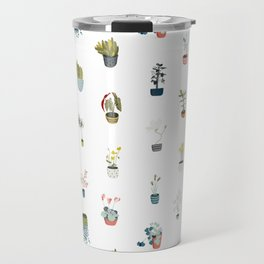 plants in pots Travel Mug