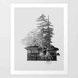 Esplanade 1/2 Art Print