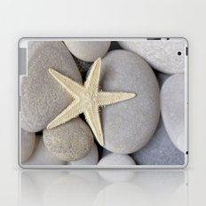 Starfish on pebble Laptop & iPad Skin