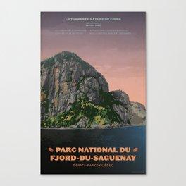 Parc National du Fjord-du-Saguenay Canvas Print