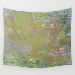 Water Lily Pond by Claude Monet Wall Tapestry