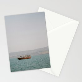 Sailing on the Sea of Galilee - Holy Land Fine Art Film Photography Stationery Cards
