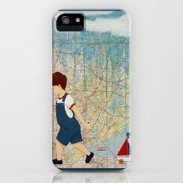 Travels iPhone Case