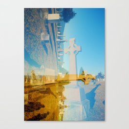 Shadow & Crosses Canvas Print