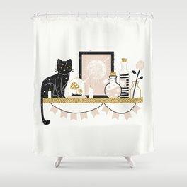 Magical Little Shelf Shower Curtain