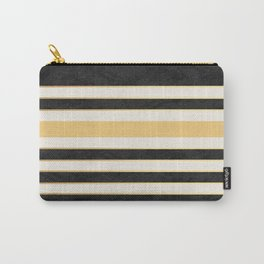 Marble stripes Carry-All Pouch