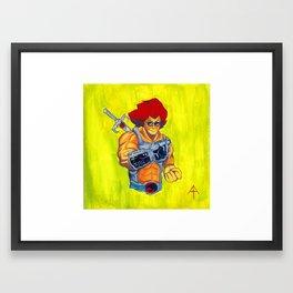 NintendHOOOOO!!! Framed Art Print