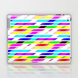 COLOURED STRIPES Laptop & iPad Skin