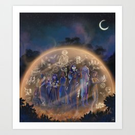 A Moment to Remember Art Print