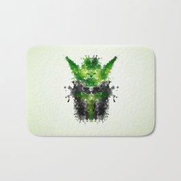 Rorschach Yoda Bath Mat