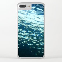 From Below Clear iPhone Case