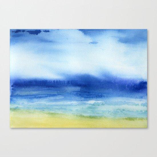 The Sea Is My Church Canvas Print