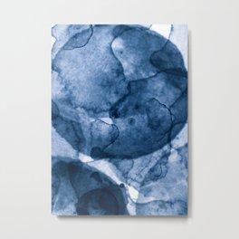 Blue Nano Metal Print