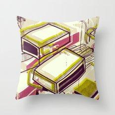 Matchbox Throw Pillow