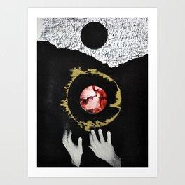Dark Creation Art Print