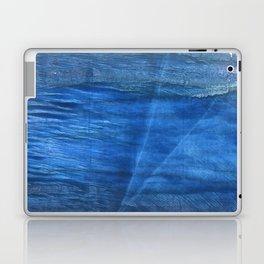 Lapis lazuli abstract watercolor Laptop & iPad Skin