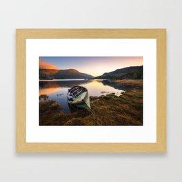 Silent in the morning - Ireland (RR230) Framed Art Print