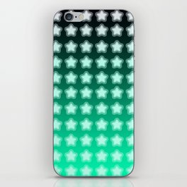 You're a Star! Green and Black! iPhone Skin