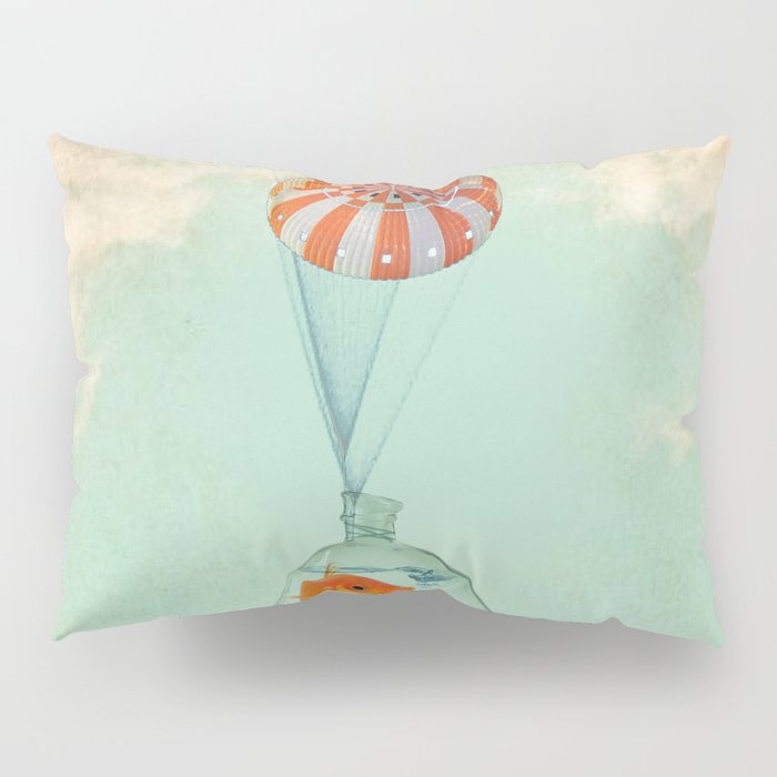 parachute goldfish Pillow Sham
