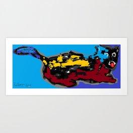 Cat (260313) Art Print