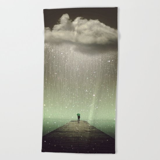 Weathering the Storm II Beach Towel