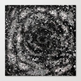 Subconscious Starlit Spots and Spirals Canvas Print