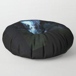 Blue Vamp Floor Pillow