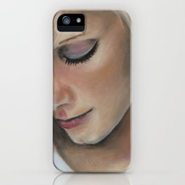 Forever a wallflower iPhone Case