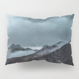 Misty morning before the summer storm Pillow Sham