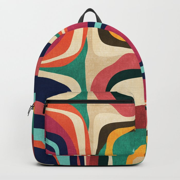 Impossible contour map Backpack