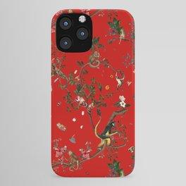 Monkey World Red iPhone Case